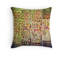 Cognitive Mapping  Throw Pillow