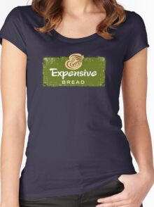 Expensive Bread Women's Fitted Scoop T-Shirt