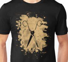 Scissors - bleached natural Unisex T-Shirt