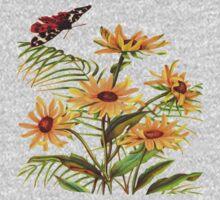 Vintage Flower Garden One Piece - Short Sleeve