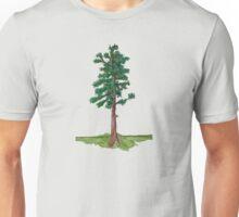 Douglas Fir - Watercolor Unisex T-Shirt
