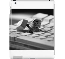 Stormtrooper Keyboard iPad Case/Skin