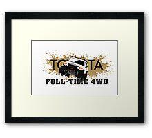FJ FULL TIME 4WD Framed Print