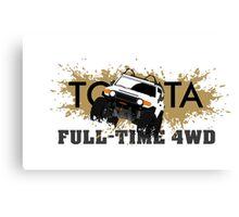 FJ FULL TIME 4WD Canvas Print