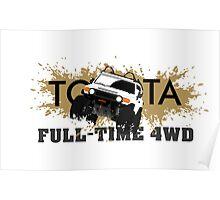 FJ FULL TIME 4WD Poster