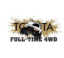 FJ FULL TIME 4WD Photographic Print