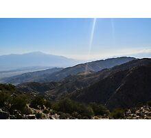 Keys View, Joshua Tree National Park, California Photographic Print