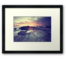 Sunlight is painting Framed Print