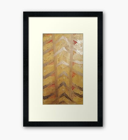 Summer Arrows Framed Print