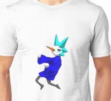 snow man (floaty pose var1) Unisex T-Shirt