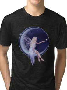 Birth of a Star Moon Fairy Tri-blend T-Shirt