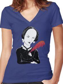 Charlotte Women's Fitted V-Neck T-Shirt