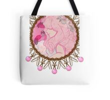 Rose Quartz Cameo Tote Bag