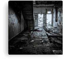 Abandoned and Desolate II Canvas Print