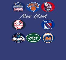 New York Professional Sport Teams Collage  Unisex T-Shirt