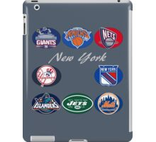 New York Professional Sport Teams Collage  iPad Case/Skin