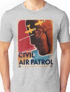 Vintage poster - Civil Air Patrol Unisex T-Shirt