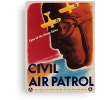 Vintage poster - Civil Air Patrol Canvas Print