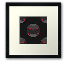 Krimzon Guard Pattern Framed Print