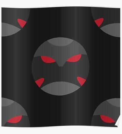 Krimzon Guard Pattern Poster