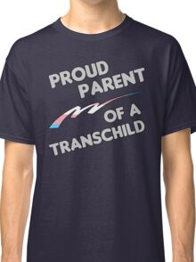 Proud Trans child Parent Classic T-Shirt
