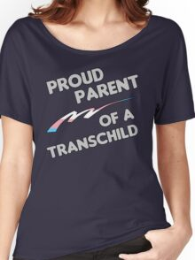 Proud Trans child Parent Women's Relaxed Fit T-Shirt
