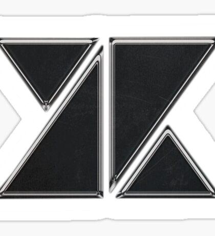 KNK Knock Logo Sticker