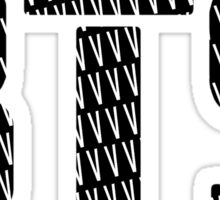 BTS/Bangtan Boys Logo/Font + V Sticker