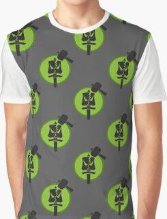 Underground Pattern Graphic T-Shirt