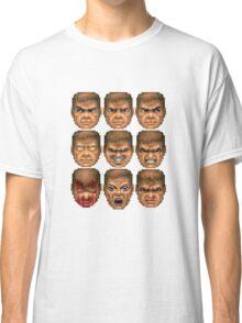 Doom faces Classic T-Shirt