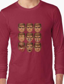Doom faces Long Sleeve T-Shirt