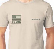 General Infantry US Army Rank Desert by Mision Militar ™ Unisex T-Shirt