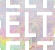 Opal Delta Delta Delta Sticker