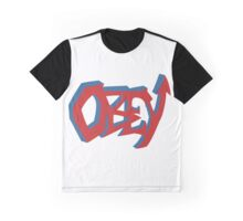 Obey Graffiti Graphic T-Shirt