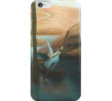 In his Boat iPhone Case/Skin