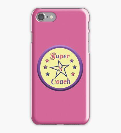 super coach iPhone Case/Skin