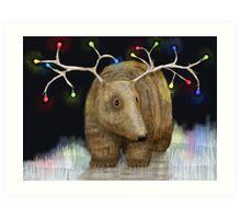 Glow me the Way : Christmas Lights Art Print