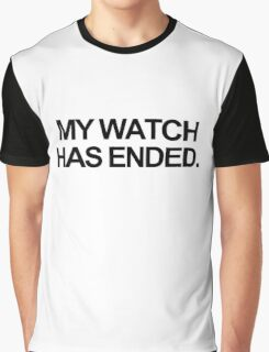 Ended Graphic T-Shirt