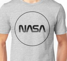 Modernized Nasa Log Unisex T-Shirt