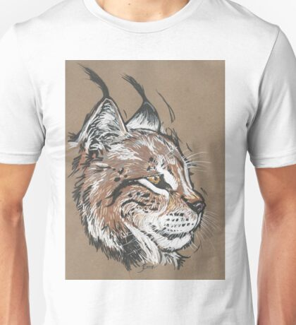 Bobcat - The Hurried Hawk Unisex T-Shirt