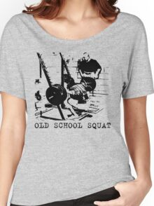 Old School Squat Women's Relaxed Fit T-Shirt