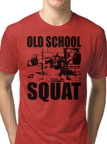 Old School Squat Tri-blend T-Shirt