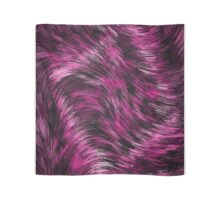 Stringy Pink Black Abstract Pattern  Scarf