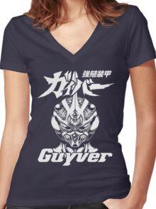 Bio Booster Armor Guyver Women's Fitted V-Neck T-Shirt