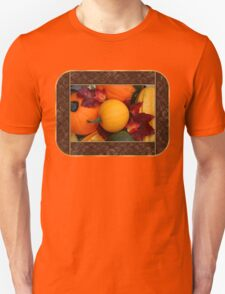 Pumpkins, Gourds and Maple Leaves T-Shirt