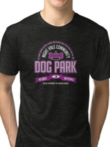 Night Vale Community Dog Park Tri-blend T-Shirt