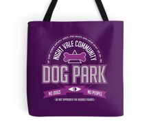 Night Vale Community Dog Park Tote Bag