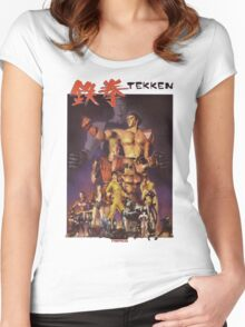Tekken 1 King of Iron Fist Women's Fitted Scoop T-Shirt
