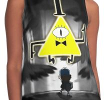 Gravity Falls Dipper Bill Cipher Contrast Tank