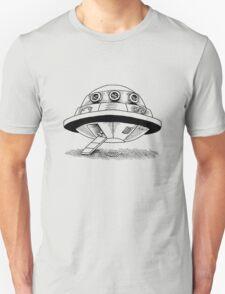 All aboard, destination unknown (Black) Unisex T-Shirt